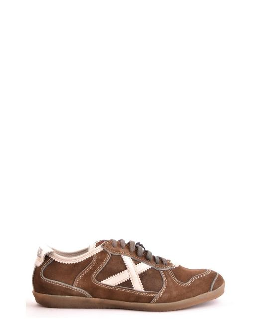 Munich - Men's Mcbi346001o Brown Suede Sneakers for Men - Lyst