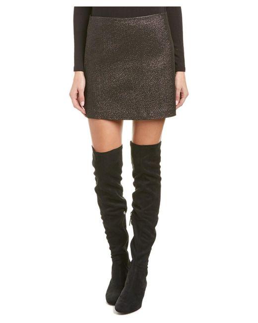 Trina Turk - Gray Rico Mini Skirt - Lyst