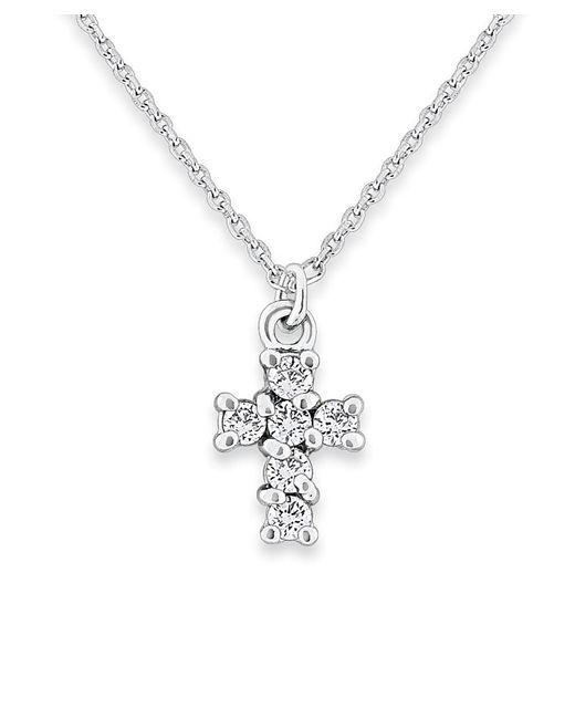 KC Designs | Metallic 14k Gold And Diamond Cross Necklace | Lyst