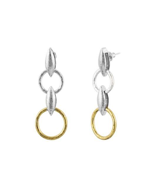 Gurhan - Metallic Wheatla Double Drop Earrings - Lyst