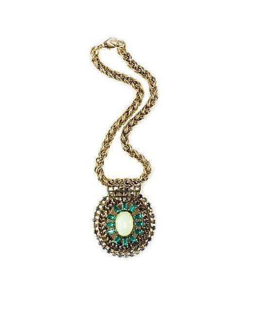 Nicole Romano | Metallic Indus Necklace | Lyst