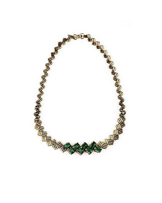 Nicole Romano   Metallic Caeli Necklace   Lyst