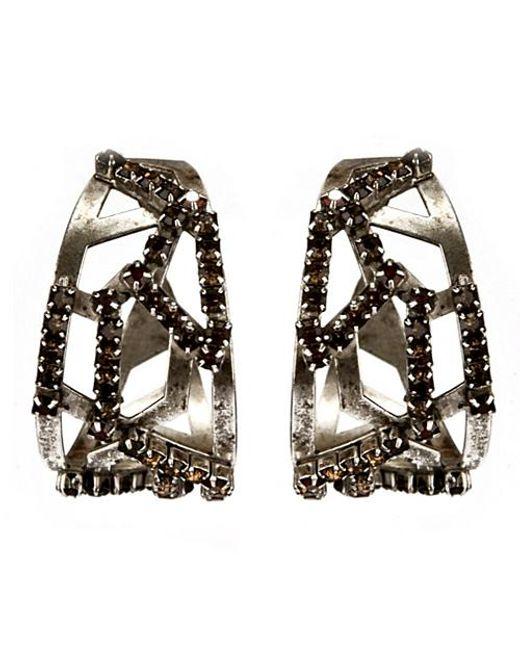 Nicole Romano | Metallic Circini Earrings | Lyst