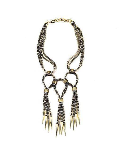 Nicole Romano | Metallic Riccio Necklace | Lyst