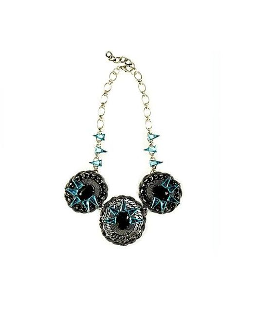 Nicole Romano | Blue Areca Necklace | Lyst