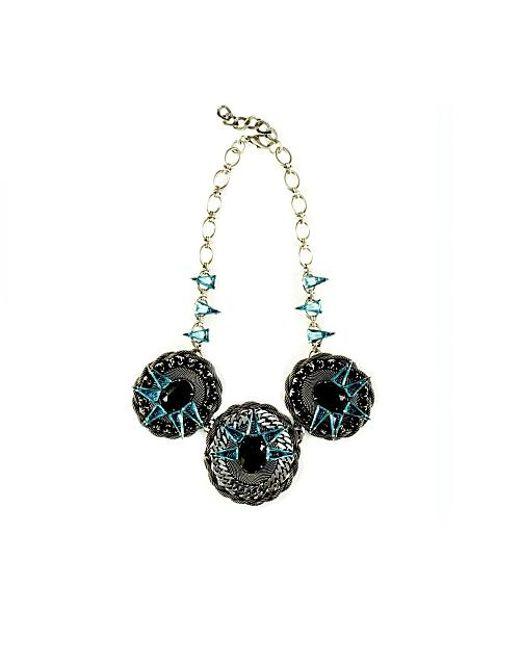 Nicole Romano   Blue Areca Necklace   Lyst