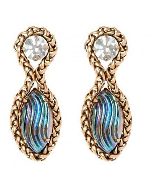 Nicole Romano | Blue Marina Earrings | Lyst