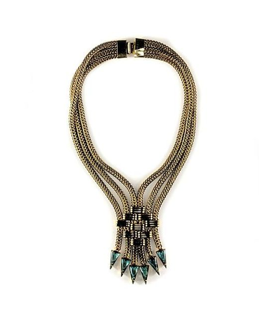 Nicole Romano | Metallic Feng Necklace | Lyst