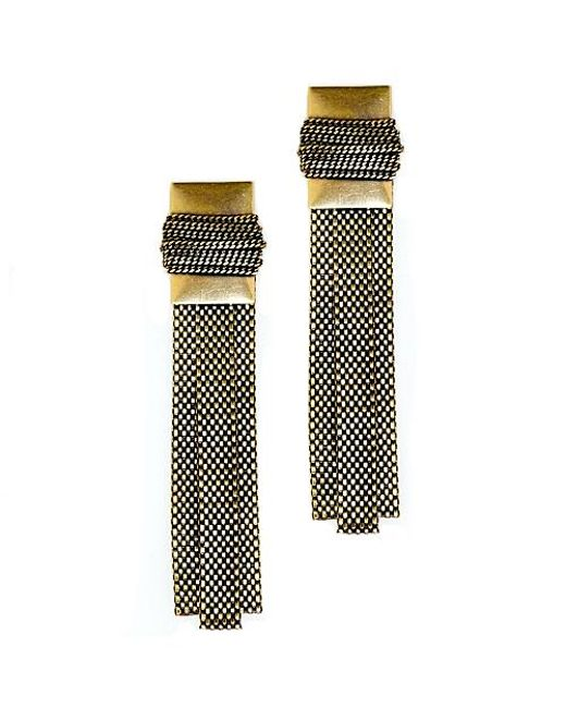 Nicole Romano | Metallic Howin Earrings | Lyst