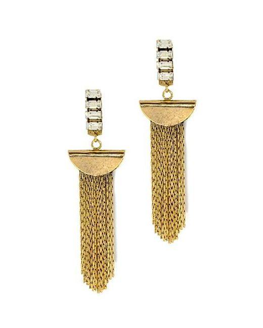 Nicole Romano | Metallic Hulin Earrings | Lyst