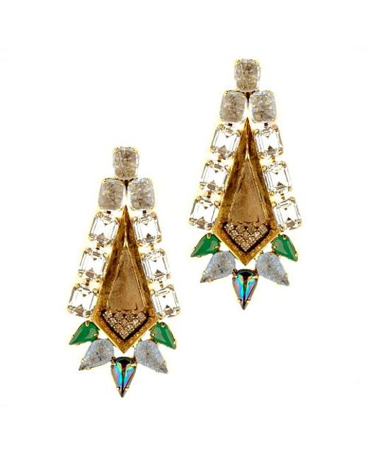 Nicole Romano | Multicolor Mani Earrings | Lyst