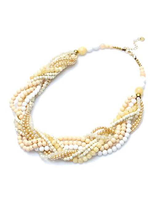 Nakamol | Multicolor Svana Necklace-cream | Lyst