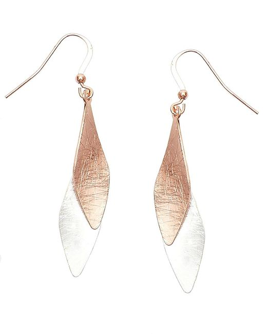 Nakamol | Multicolor Whiff Earrings-copper/silver | Lyst