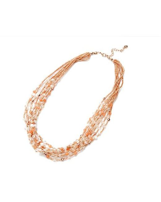 Nakamol | Orange Summer Dream Necklace-peach | Lyst
