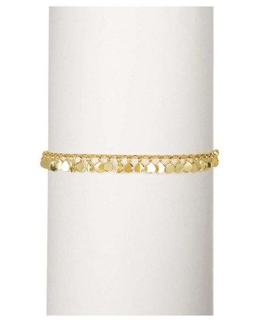 Adornia | Confetti Bracelet Yellow Gold Plated Silver | Lyst