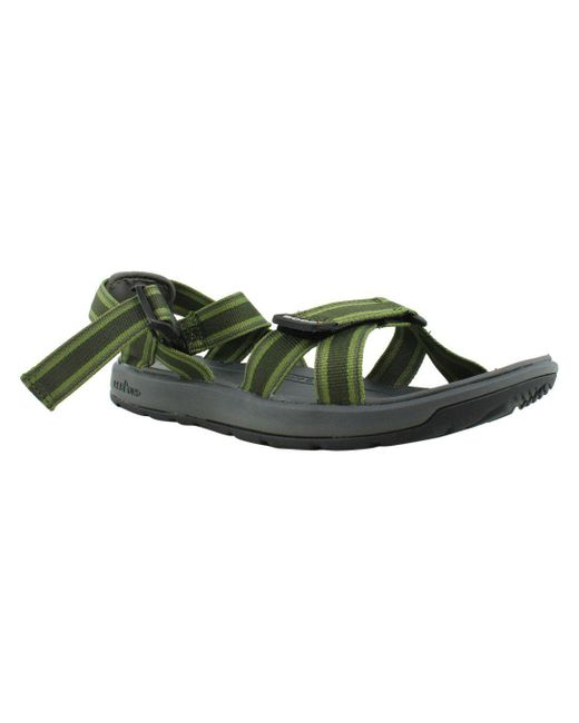 3b172b83049 Lyst - Bogs Mens Green Ankle Strap Sandals Size 11 in Green for Men