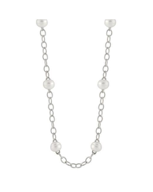 Splendid   Metallic Heavy Link Chain Tin Cup Necklace   Lyst