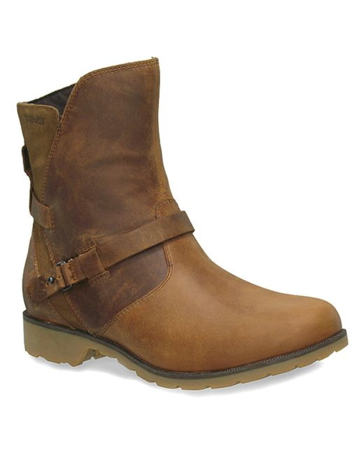 Teva | Brown Women's De La Vina Low Boots | Lyst