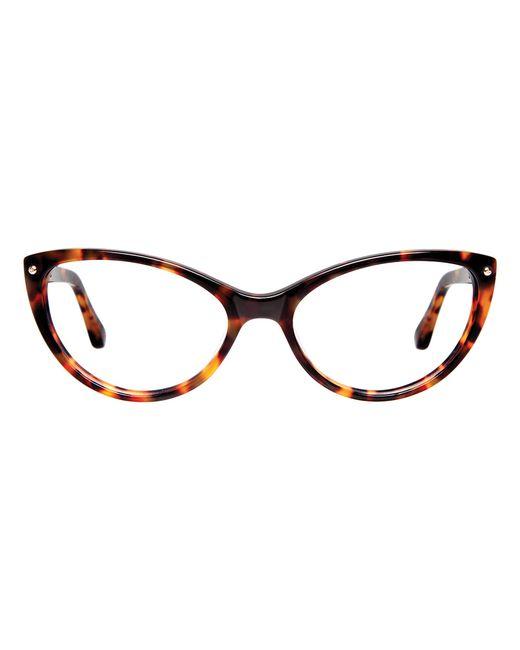 Cynthia rowley Honey Tortoise Cat-eye Plastic Eyeglasses ...