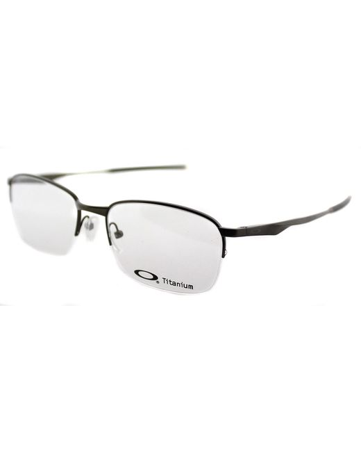 Oakley Wingfold 0.5 Semi-rimless Metal Eyeglasses in ...