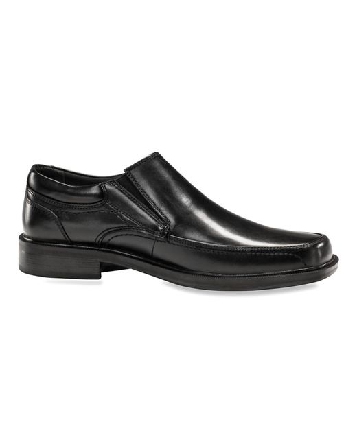 dockers s edson moc toe slip on loafers shoes in black
