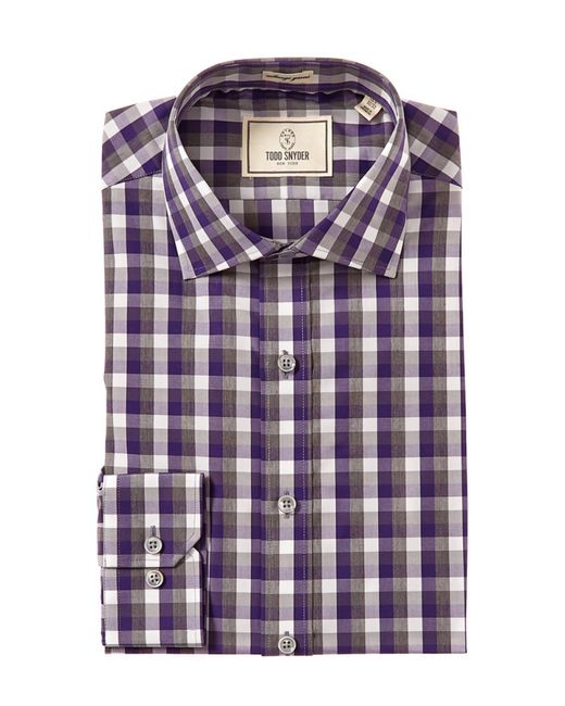 Todd Snyder   Purple Slim Fit Dress Shirt for Men   Lyst