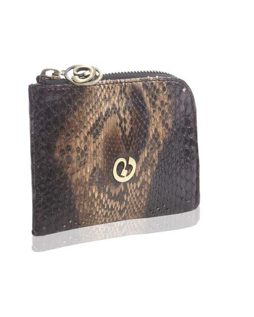 Nada Sawaya | Black Medium Zip Around Python Wallet | Lyst