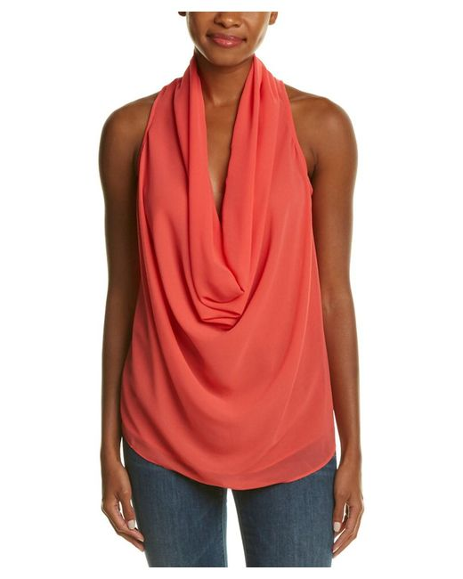Fate | Multicolor Cowl Neck Tank | Lyst