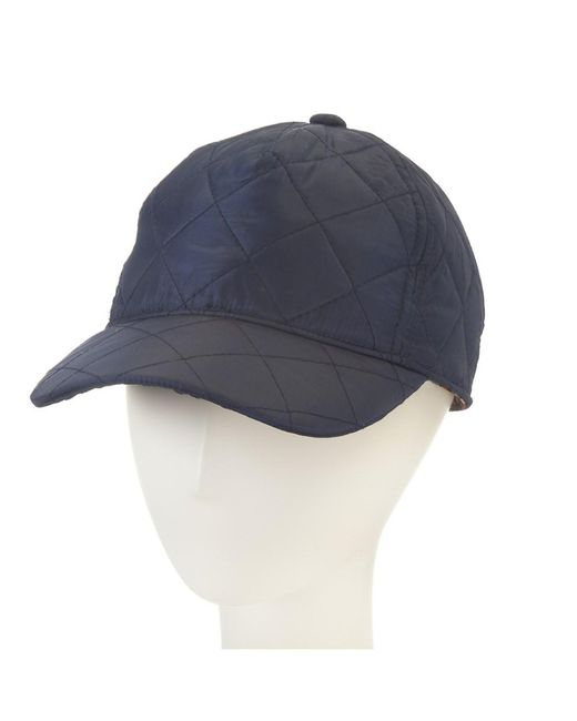 Giovannio   Blue Quilted Baseball Cap for Men   Lyst