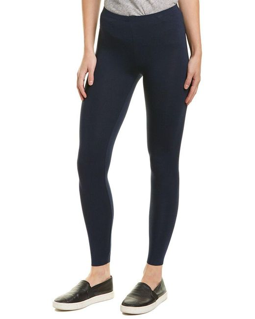 Three Dots - Blue Classic Legging - Lyst