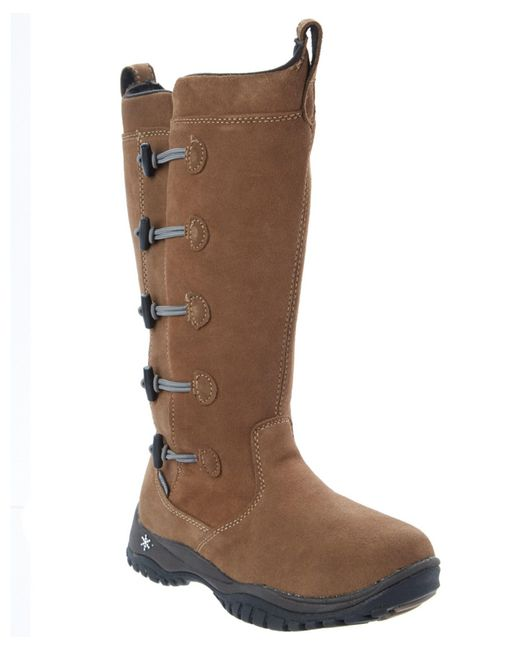 Baffin | Brown Women's Miku Series Carla Suede Boot | Lyst
