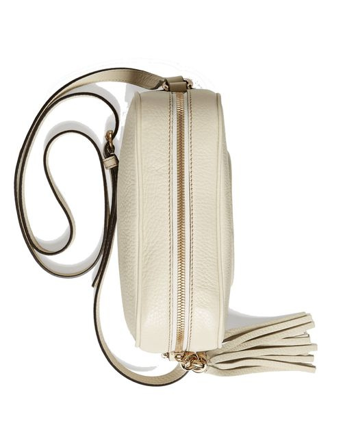 11115d6318dcc Gucci Soho Disco Bag Off White