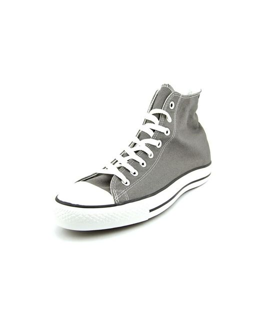 Converse | Gray Chuck Taylor All Star Specialty Hi Canvas Sneakers for Men | Lyst