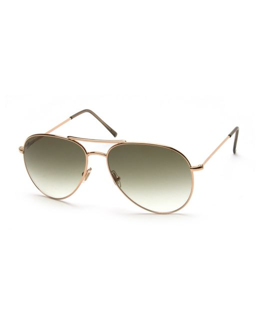 75759ad53dff1 Gucci Womens Gold Aviator Sunglasses   United Nations System Chief ...
