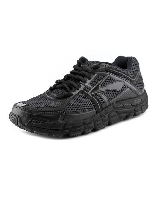 Brooks   Black Addiction 12 Round Toe Synthetic Running Shoe for Men   Lyst