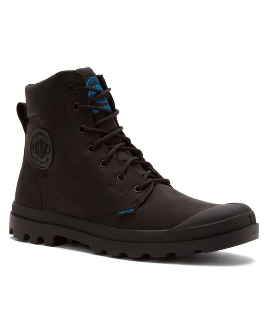 Palladium | Black Men's Pampa Cuff Wp Lux Boots for Men | Lyst