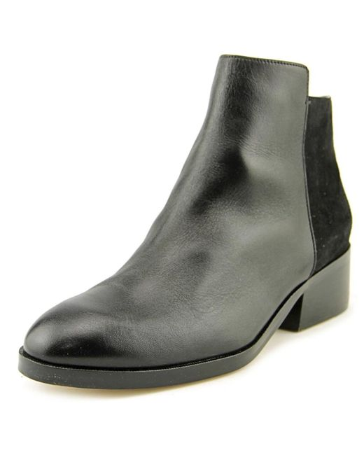 Cole Haan   Black Elion Grand.os Leather & Suede Bootie   Lyst