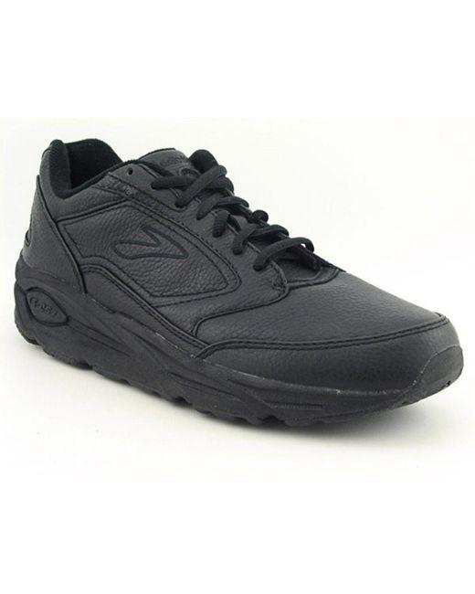Brooks | Black Addiction Walker Women 2e Round Toe Leather Toning Shoes for Men | Lyst