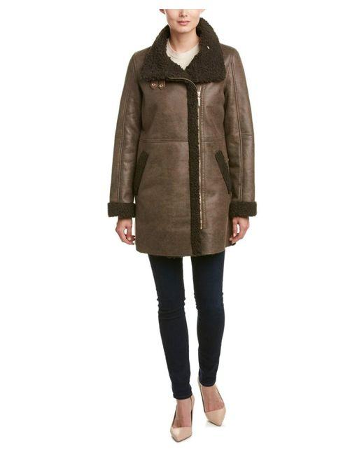 Ellen Tracy | Brown Coat | Lyst