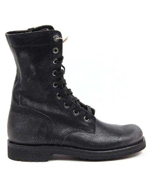 DIESEL   Black Mens Boot for Men   Lyst