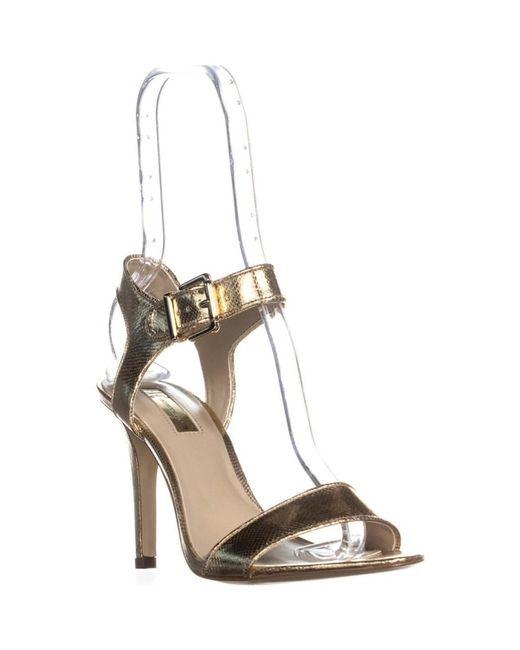 21ccbcab620 INC International Concepts - Metallic I35 Jemiah Ankle Strap Dress Sandals