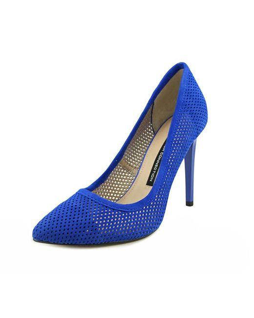 French Connection | Blue Monet Bin Women Peep-toe Synthetic Heels | Lyst