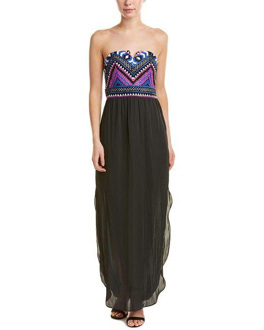 Alice & Trixie - Black Maxi Dress - Lyst