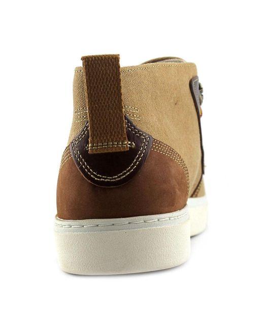 timberland amherst desert boot round toe canvas desert boot in brown for men lyst. Black Bedroom Furniture Sets. Home Design Ideas