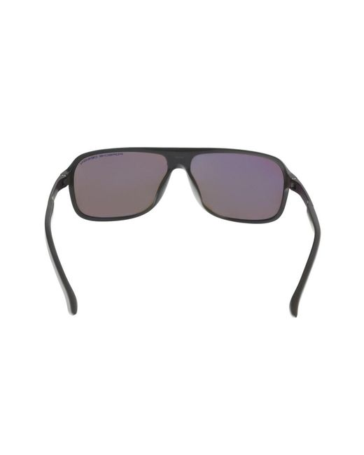 2051bebe9d9 ... Porsche Design - P8554-d Dark Brown Aviator Sunglasses for Men - Lyst  ...