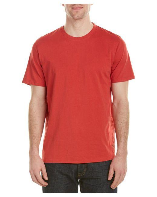 Tori Richard   Red Oceanic Solid T-shirt for Men   Lyst