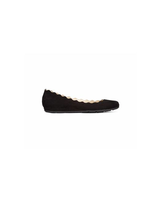 American Rag | Black Womens Erin Almond Toe Ballet Flats | Lyst