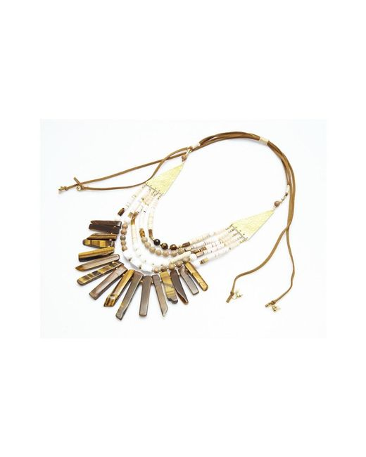 Nakamol | Metallic Rakoto Necklace By | Lyst