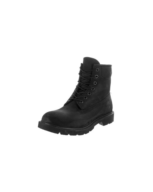 Timberland | Black Icon 6-Inch Leather Boots for Men | Lyst