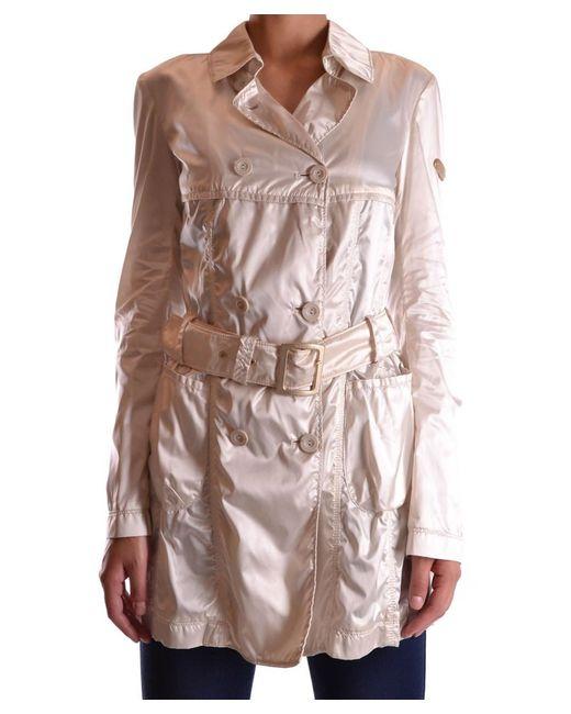 Geospirit | Brown Women's Beige Polyamide Trench Coat | Lyst